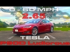 0-60 MPH in 2.6 Seconds in the Tesla Model S P90D Ludicrous Refresh
