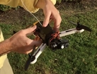 Seeing Spark (a Sparky2 and SparkyBGC mini gimbal quad) testing