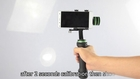 How to use Lanparte hand-held gimbal for smartphone and GoPro?
