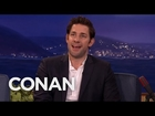 Chris Hemsworth's Hot Body Kept John Krasinski From Being Captain America  - CONAN on TBS