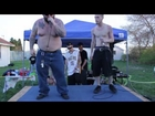 L.B live performing When Fire Becomes Cold 420 Easter 2014