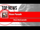 Top News:02/01/2015 Rose Parade 2015: Thousands brave cold; float winners announced