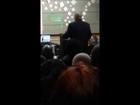 Ras Baraka speaks on Gov Christie's Newark school closings plan (12/17/13)