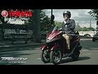 The NEW Yamaha Tricity. Move. Live. Love. [Yamaha Motor Europe]