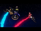 Racing Two-Strokes After Dark at Red Bull Straight Rhythm