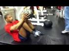 Medicine Ball Cycling Abs - Training NY Kingsway Gym 2010 6