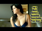 Top 5 Most Beautiful|Hottest|Searched Pron Actress in the World