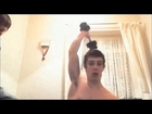 TEEN MUSCLE GOD - Bodybuilder Flexing , Grippers and shredded muscles Hulk adolescence