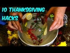 10 Thanksgiving Food Life Hacks