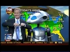 GEMO Shionogi FOX & Friends Weather Report NYC Oct 2010 with Henry Mandell