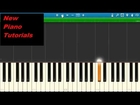 All Time Low - Something's Gotta Give - Piano Tutorial - Synthesia - How To Play