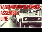 2015 Land Rover Defender Assembly Line