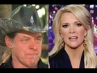Ted Nugent Defends Donald Trump Says He Watches Megyn Kelly Sitting Naked and Loading His Gun