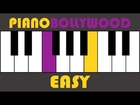 Abhi Mujh Mein Kahin [Agneepath] - Easy PIANO TUTORIAL - Stanza [Left Hand]