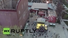Russia: 500 balloons released for the women of the Great Patriotic War