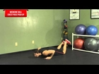 Medicine Ball Chest Pass + Fallout - HASfit Medicine Ball Exercises - Medicine Ball Exercise