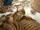 Wood Carving Repair 2c - TIKI THAI ARTS