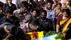 Film Industry attends the funeral of Balu Mahendra |  Radha Ravi, Perarasu, Bharathiraja| Death