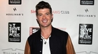 Robin Thicke Out Partying with Scantily-Clad Women Post-Split