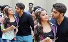 2 States | Arjun Kapoor Caught Kissing Alia Bhatt In Campus!