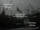 DiFilm - Barcos en el puerto metropolitano de Buenos Aires 1970