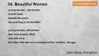 john tiong chunghoo - 04. Beautiful Women