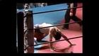 Leghook submission, figure 4 leg lock, leg lock women belly to belly suplex, headscissors female vs male