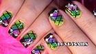 RAINBOW WATER MARBLE NAILS DESIGN  How to Nail Art Tutorial for Beginner Easy Simple 水染彩繪美甲