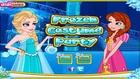 Frozen Costume Party - Frozen Cartoon Movie Elsa And Anna - Children Games To Play