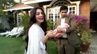 Neelam Muneer with Adeel Ali