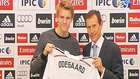 Real Madrid sign rising star Odegaard