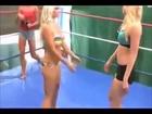 HeadLock backbreaker, figure 4 ankle Lock, arm bar, armbreaker beautiful American females wrestling