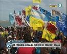 Visión 7: Recuperación: La Fragata Libertad llega al puerto de Mar del Plata