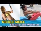NICOLE MEJIA - Fitness Model: Buttocks, Adductor, Quadriceps and Hamstring Exercises @ USA