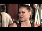 Ronda Rousey habló previo a su pelea contra Holly Holm en UFC 193